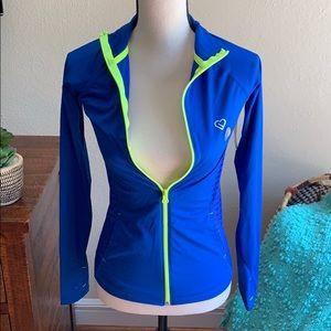 Athleisure zip jacket